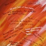 Heilung - Acryl (verschenkt) - Dezember 2008