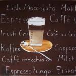 Latte Macchiato - Acryl - 20. Juni 2009