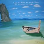 Boot - Acryl (verschenkt) - 16. Januar 2008