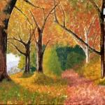 Herbsttag - Acryl